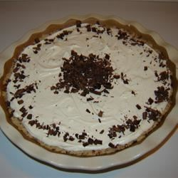 Mississippi Mud Pie II Recipe - This creamy, chocolaty pie has a walnut crust.