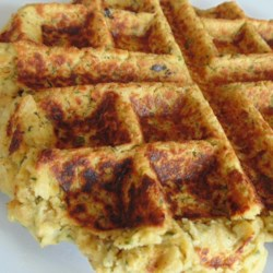 Waffled Falafel Recipe - Falafel is cooked on a waffle iron to make this recipe for delicious waffled falafel that everyone will love!
