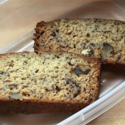 Chef John's Banana Bread Recipe - Banana bread is one of those things people rarely make on purpose, only when those last three bananas are almost black. This scrumptious banana walnut loaf, spiked with dark chocolate chips, is so good you'll want to make it well before the bananas get to that condition.