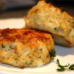 Maryland Crab Cakes II Recipe - Maryland is famous for its crab cakes! After you've tried this recipe, you'll know why.