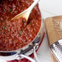 Rustic Marinara Sauce Recipe - Pecorino-Romano cheese gives this rustic marinara sauce extra richness and flavor for your Italian-inspired meals.