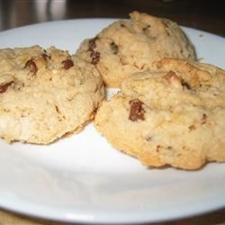 Million Dollar Cookies Recipe - Crispy rice cereal drop cookies. Try butterscotch chips for a different taste.