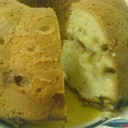 Apple Bundt Cake Recipe - This is a good wholesome cake, especially for the fall.