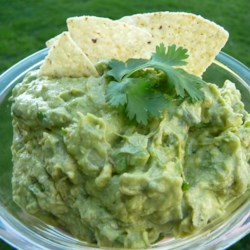 Quick and Easy Guacamole Recipe - Seasoned salt gives a different bit of flavor to this guacamole recipe.