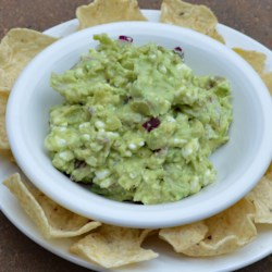 Daddy's Guacamole Dip Recipe - This is one of my dad's favorite recipes that he's handed down to my sisters and myself. It's a little different from traditional guacamole dip cause of the cottage cheese, but very delicious! Serve with chips or vegetables.