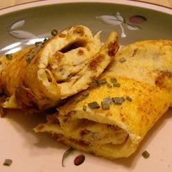 Mild Curry Omelet