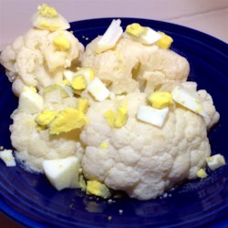 Grandma's Lemon Cauliflower Side Dish Recipe - Grandma's cauliflower side dish with a lemon-butter sauce is a quick and easy dish to prepare and goes well with any main course.