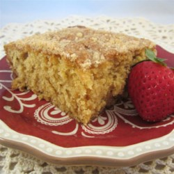 Hungarian Coffee Cake Recipe - Hungarian coffee cake topped with a crumbly topping will become a breakfast-favorite. Serve with a cup of coffee.