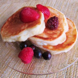 The Best Ricotta Pancakes Recipe - A time-tested favorite ricotta pancake recipe, this is a little tangy and very satisfying; perfect with fresh blueberries or strawberries.