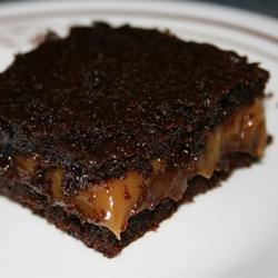 Chocolate Caramel Brownies Recipe - My aunt gave me this recipe. It is a little trouble, but they will be the best brownies you'll ever eat.