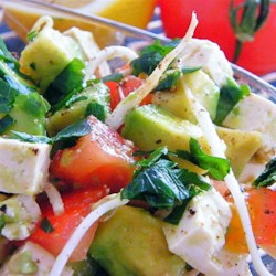 Tracey's Fish-Free Summer Ceviche Recipe - This ceviche recipe uses mozzarella cheese instead of fish for a vegetarian-friendly ceviche, which can be served in martini glasses for an elegant summer appetizer.