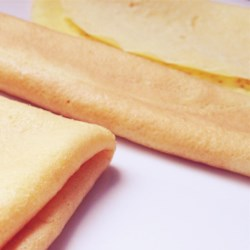 Manicotti Pancakes II Recipe - Crepes for manicotti -- just milk, eggs and flour.