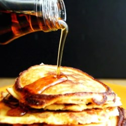 Coconut Flour Pancake Recipe - Coconut flour, coconut oil, and stevia sweetener make a different type of pancake for those watching their carbohydrate and sugar intake.