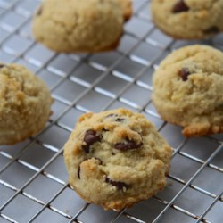 Grain-Free, Kid-Approved Chocolate Chip Cookies Recipe - Make these grain-free chocolate chip cookies with cranberries for a treat that kids and adults all love.
