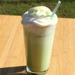Delicious Matcha Green Tea Frappuccino(R) Recipe - Inspired by popular drink from Starbucks(R), this recipe provides a quick, easy, and less-expensive way to make a matcha green tea Frappuccino(R) at home.