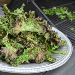 Coconut and Lime Grilled Kale Recipe - Marinate kale in a coconut milk and lime juice marinade and grill on your barbeque for this tasty, flavorful recipe for grilled kale.