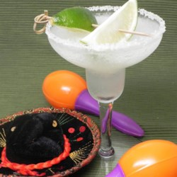 Margarita Made Easy Recipe - Limeade, citrus soda and te-te-tequila! Muy easy.