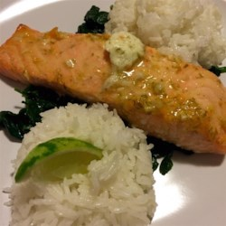 Grilled Salmon with Habanero-Lime Butter Photos - Allrecipes.com