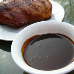 Teriyaki Sauce Recipe - This is a great marinade for pork, chicken and steak. My family loves it as is has a little kick.