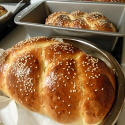 Bread Machine Challah II Recipe - Absolutely delicious.  I have a two pound bread machine and use it to make the Challah dough.  It freezes well.
