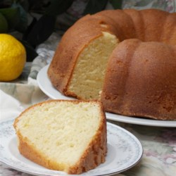 Grandma Ruby's Buttermilk Pound Cake Recipe - Buttermilk pound cake gets a citrus kick with the addition of lemon extract, creating a rich and moist pound cake you're sure to love!