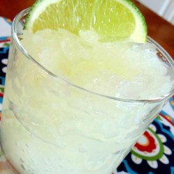 Bucket of Margaritas Recipe - These slushy margaritas are made in the freezer. No blending required! But they must be made ahead to allow time to freeze.
