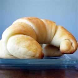 Colleen's Potato Crescent Rolls Recipe - Be sure to allow enough time for these delicate rolls, as the dough must rest for at least eight hours in the refrigerator. Of course, that makes preparation on the day you serve them so much quicker!