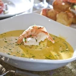 Lobster and Chive Bisque Recipe - A quick and tasty bisque.
