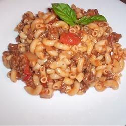 Homestyle Beef, Macaroni and Cheese