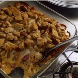 Traditional Reuben Casserole Recipe - This recipe was given to us by my husband's aunt. It has the same ingredients as a Reuben sandwich. If you love Reubens you should love this!