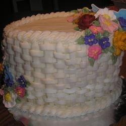 Wilton Course 2 Lesson 4 Cake