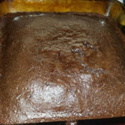 My Mom's Chocolate Cake Recipe - A simple, old-fashioned chocolate cake. Great with a chocolate glaze.