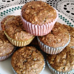 Banana Zucchini Bread Muffins Recipe - Two classic quick bread recipes are combined into one: banana zucchini bread, that can be made into muffins or loaves.
