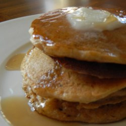 Sweet Potato Breakfast Pancakes Recipe - Sweet potatoes make a great stand-in for pumpkin when making breakfast pancakes with fall flavors thanks to this recipe.