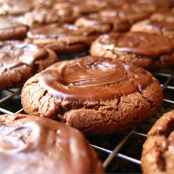 Chocolate Mint Candies Cookies Recipe and Video - I received this recipe through a cookie exchange years ago, and it has become a favorite of family and friends.