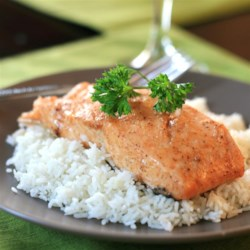 Smokey Salmon Recipe - Grilled salmon, seasoned with Creole seasoning, and with a touch of sweetness from maple syrup, is a quick and easy summertime dinner.