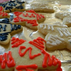 Betty Brown's Butter Cookies Recipe - This butter cookie recipe has been passed down through several generations producing a crowd-pleasing treat for any time of the year.