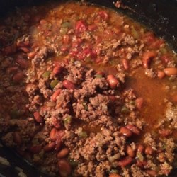 Prize Winning Chili Recipe - This prize-winning chili is loaded with the right amount of sausage, beef, beans, and tomatoes perfectly seasoned for a frequently-requested meal at gatherings.