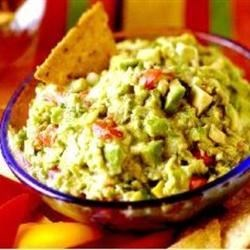 Gourmet Guacamole Recipe - This is a delicious and easy guacamole dip with salsa, mayonnaise and spices!