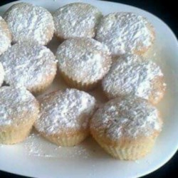 Brunch Cream Cheese Muffins Recipe - This is a nice light muffin with a secret stash of lemon cream cheese hiding inside.