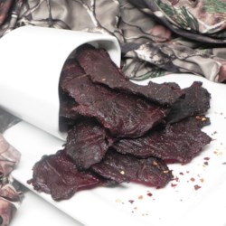 Western Style Beef Jerky Recipe - Beef jerky is a good way to keep to a low carb diet.  It is a healthy and good snack to have around the home.