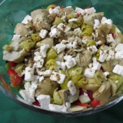 Winter Root Vegetable Salad Recipe - This root vegetable salad has a little Greek twist to it with the addition of Greek seasoning and feta cheese.