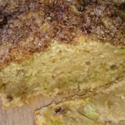 Rhubarb Bread II Recipe - If you use buttermilk instead of milk and lemon juice, you 'll get this version of rhubarb bread that 's moist, sweet and tangy.