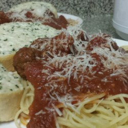 Back to Meat-Lover's Slow Cooker Spaghetti Sauce recipe