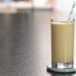 Banana Mango Smoothie Recipe - For a delicious on-the-go breakfast, this fruity, creamy banana mango smoothie is ready in just one minute.
