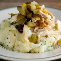 Mashed Potatoes from LACTAID(R) Recipe - Serve these creamy mashed potatoes with chives as is, or add any or your favorite toppings--the possibilities are almost endless!
