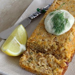 Mom's Salmon Mousse Recipe - Easy economical salmon loaf that tastes great! Terrific during Lent. Unlike most fish recipes, this tastes even better the next day. Add a simple white sauce with dill for a more elegant presentation.