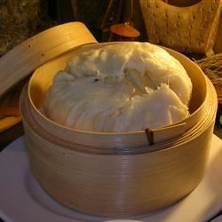 Chinese Steamed Buns Recipe - Follow this recipe carefully and you will be rewarded with these delicate, filling-free Chinese steamed buns. You can also use this recipe to make the traditional filled versions.