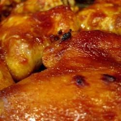 Becki's Oven Barbecue Wings