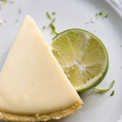 Key Lime Pie VII Recipe - This key lime pie filling has sour cream and sweetened condensed milk and is perfect for your favorite homemade graham cracker crust.